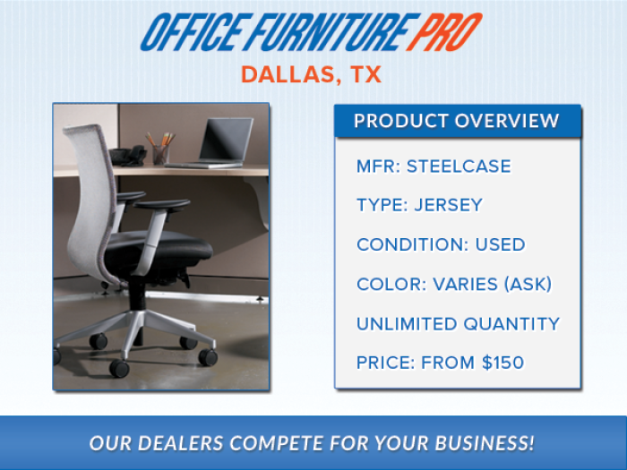 Steelcase Jersey Chairs   $150 Steelcase Jersey Chairs   $150 By Cubicle  Guru In Fort Worth TX